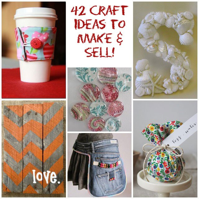 42 Craft Project Ideas That Are Easy To Make And Sell